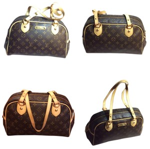 Louis Vuitton Pad Lock & 1 Key Shoulder Bag