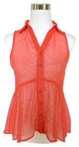 Roxy Sailboat Sheer Top Orange