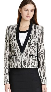 BCBGMAXAZRIA Black/Combination Blazer