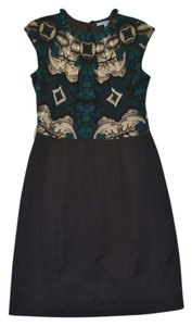Antonio Melani Silk Chiffon Sleeveless Work Dress