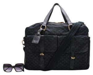 Louis Vuitton Monogram Canvas Signature Navy blue Travel Bag