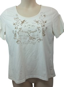 Basler Cotton T Shirt WHITE