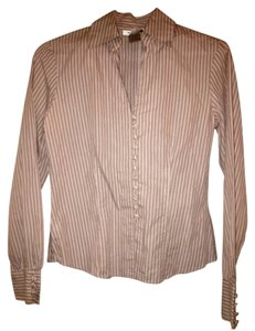 Nine West Button Down Shirt Pink