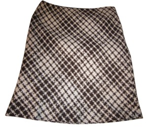 DT Collection Skirt Brown/Ivory