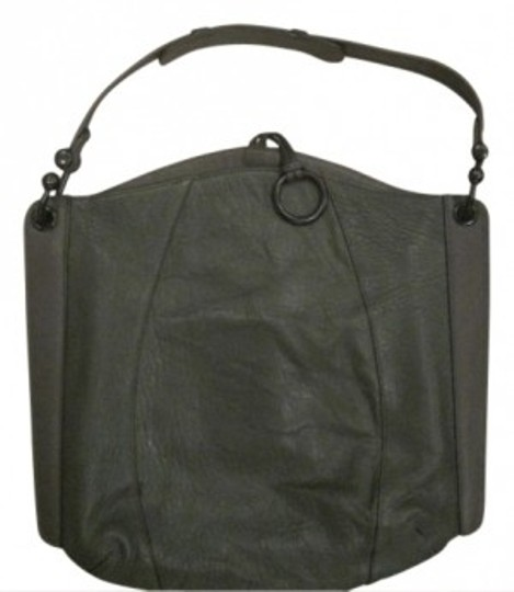 Preload https://item1.tradesy.com/images/bcbgmaxazria-amelie-signature-dark-green-leather-hobo-bag-11890-0-0.jpg?width=440&height=440