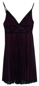 Charlotte Russe Polyester Lace Lace Trim Dress