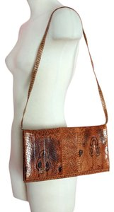 Pierre Cardin Vintage Snake Skin Designer Cross Body Bag