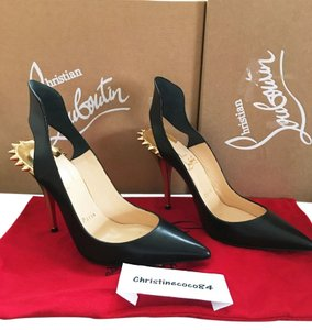 Christian Louboutin Size 39 Survivita Spike Louboutin Survivita Black Pumps