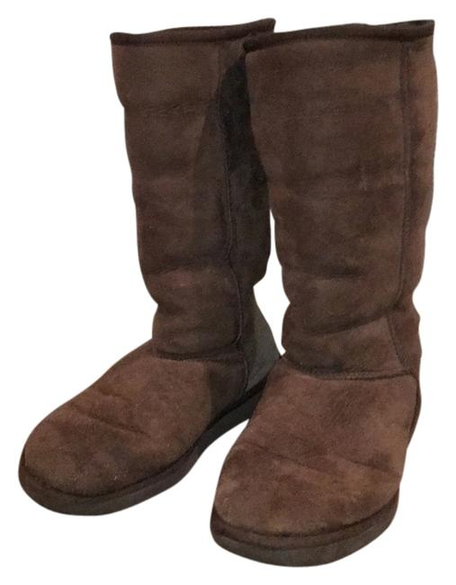 Item - Brown Boots/Booties Size US 8 Wide (C, D)
