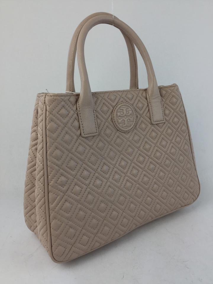2d10382e57d8 Tory Burch Quilted Light Pink Leather Tote - Tradesy