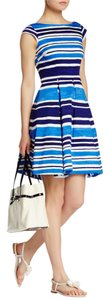Kate Spade Cute Classic Pockets Cotton Fit & Flare Dress