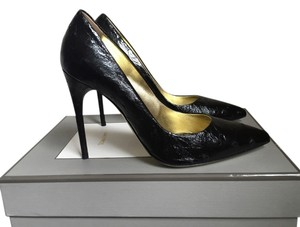 Tom Ford Ostrich Heels Black Pumps
