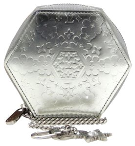 Louis Vuitton SALE !! Louis Vuitton Limited FLOCON Coin Charm Purse Key Cles