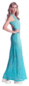 BLUE Maxi Dress by bebe Maxi Summer Wedding