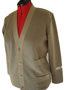 Salvatore Ferragamo Wool Cardigan Sweater