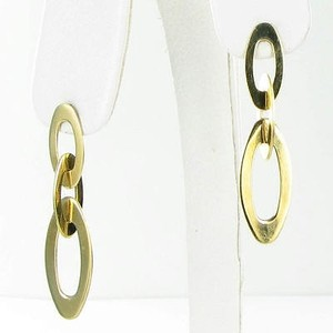 Roberto Coin Roberto Coin Chic Shine Earrings Dropdangle 18k Yellow Gold