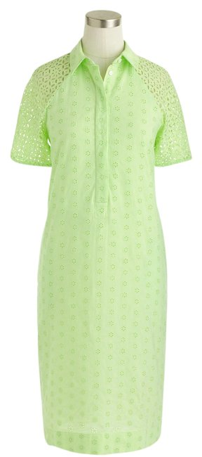 J.Crew short dress Neon Kiwi on Tradesy