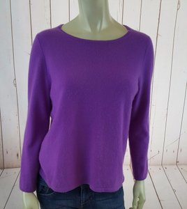 J.Crew Lilac Italian Cashmere Crewneck Long Sleeves Sweater