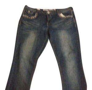 Mossimo Supply Co. Boot Cut Jeans-Distressed