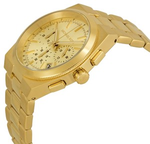Michael Kors Nwt Michael Kors womens Channing chronograph gold tone watch