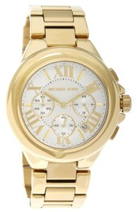 Michael Kors Nwt Michael Kors women Camille gold tone watch