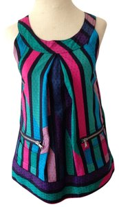 Marc Jacobs Top green, pink and purple
