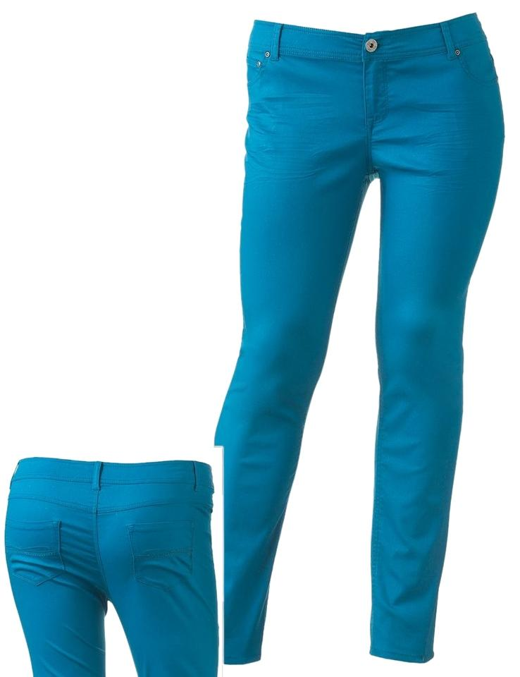Pants Color Teal New Kohls Size Green 10m31 Rise So Womens Juniors Low n0mNv8wO
