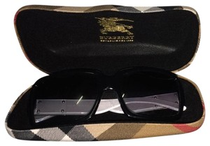 Burberry Burberry Black & White Classic Print Sunglasses