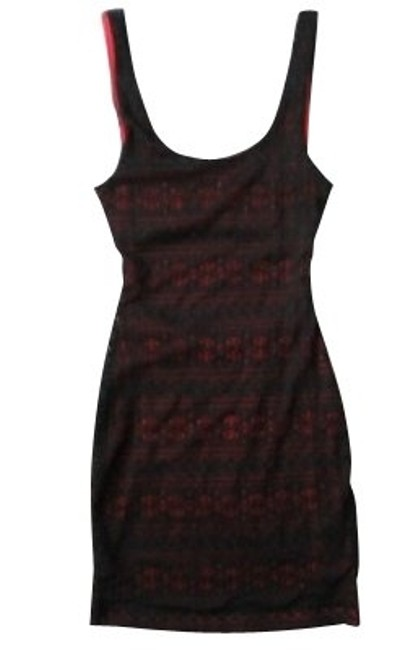 Preload https://item5.tradesy.com/images/sparkle-and-fade-black-and-pink-above-knee-cocktail-dress-size-8-m-119-0-0.jpg?width=400&height=650