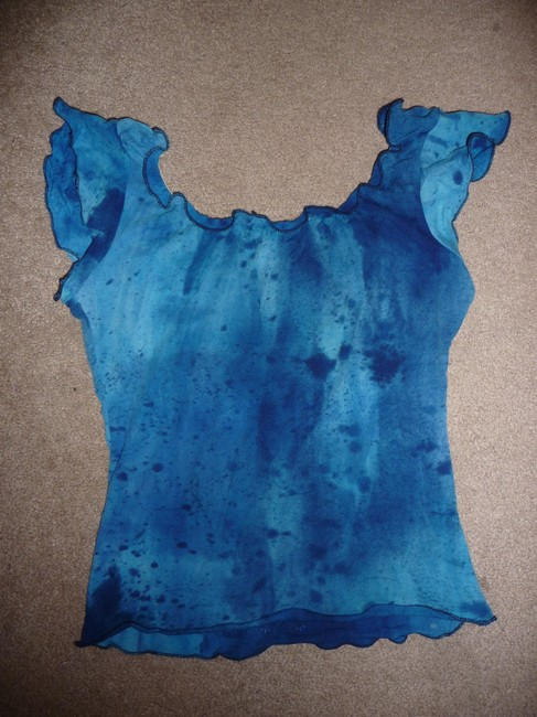 Weavers T Shirt Blue Image 1