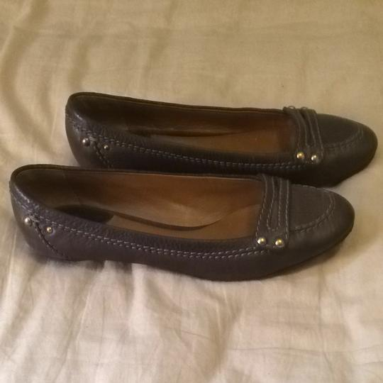 Chloé Brown Leather Flats