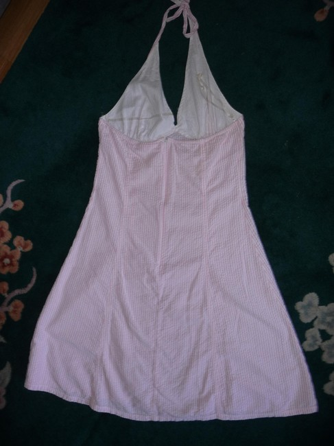DNA short dress Pink and white on Tradesy