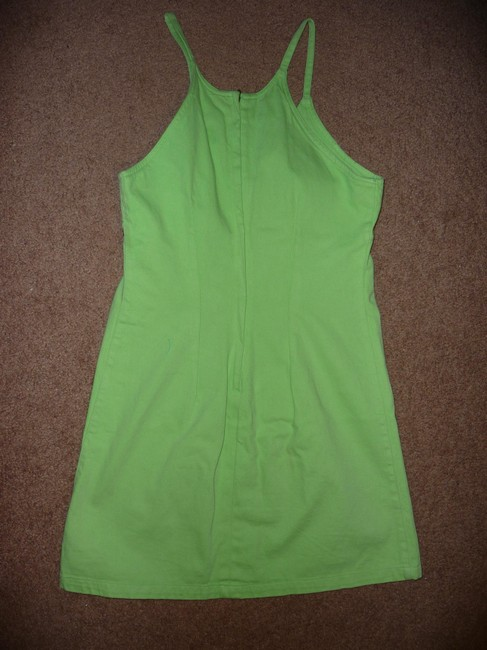 Roxy short dress Lime Green on Tradesy