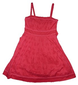 Velocity short dress Red on Tradesy