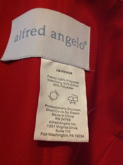 Alfred Angelo Red Alfred Angelo Style 7201 Dress