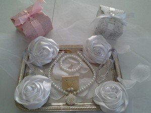 Flower Girl Pageant Wedding Children Or Adult Pearl 3pc Gift Box White Necklace Set