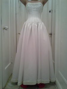 David's Bridal Couture Ball Gown Wedding Dress