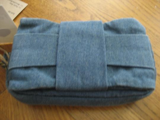 Felix Ray Blue Clutch