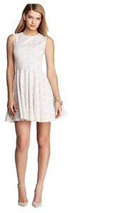 Diane von Furstenberg short dress Henna Diamonds White on Tradesy