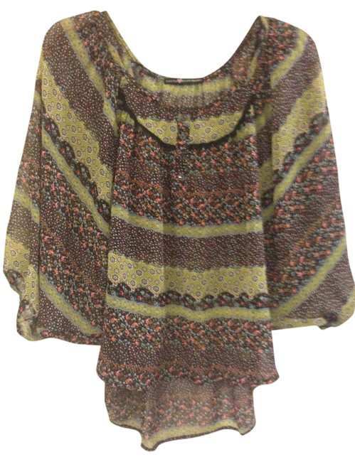 Love Squared Boho Top Patterned