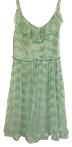 Other short dress Seafoam Green Seafoam Lace on Tradesy