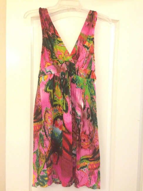 Matty M short dress Multi-colored Pink on Tradesy