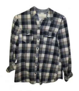 Abercrombie & Fitch Button Down Shirt Plaid