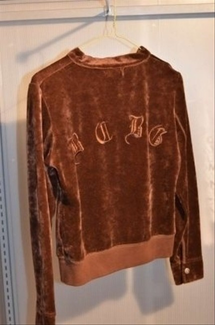 BCBGeneration Bcbg Maxazria Velour Zippered Cardigan Size Small In Color Walking Yoga Sweatshirt