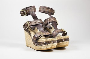 Alexander McQueen Brown Sandals