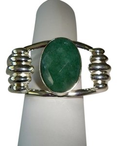 Other Jade .925 Silver Cuff