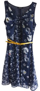 Jason Wu short dress Blue, Navy, Floral on Tradesy