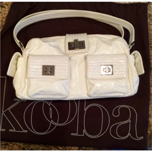 Kooba Patent Leather Tote Shoulder Bag