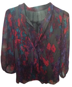 Tibi Top Multi Purple