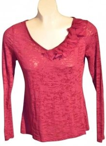 ELLE Long-sleeved Size S Top